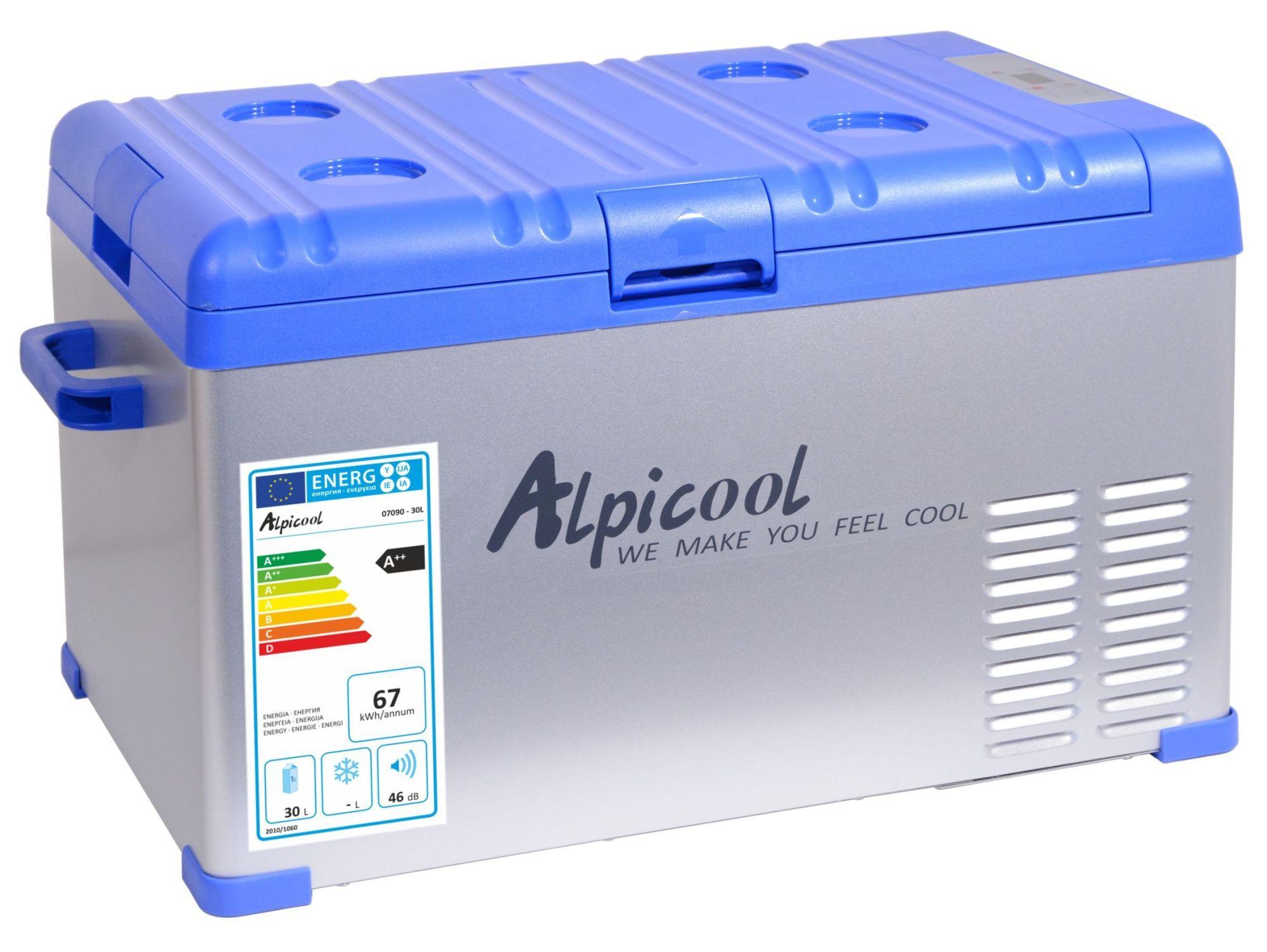 Alpicool Chladící box kompresor 30l 230/24/12V -20°C