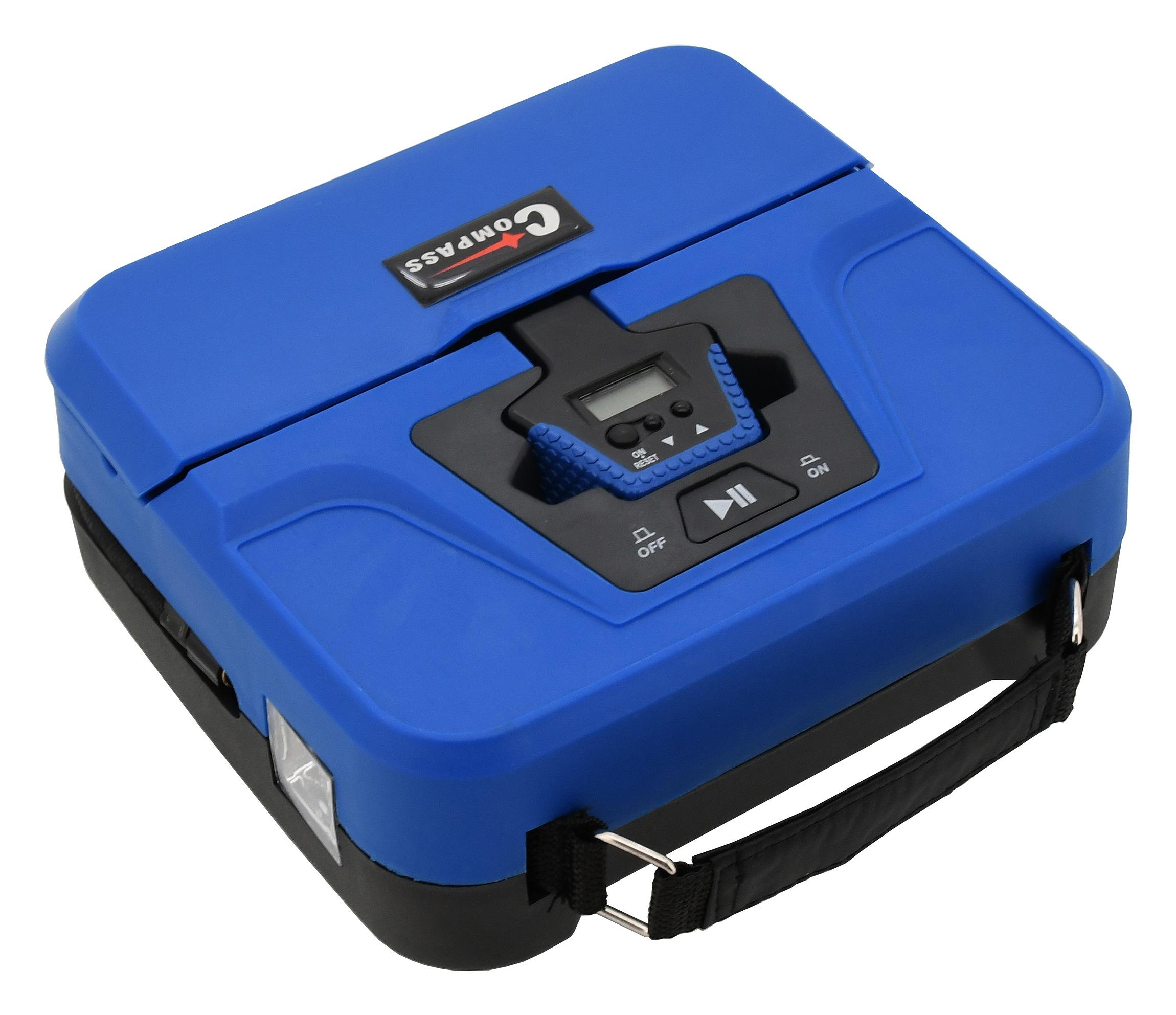 Compass Kompresor 12V BOX digitální 3in1
