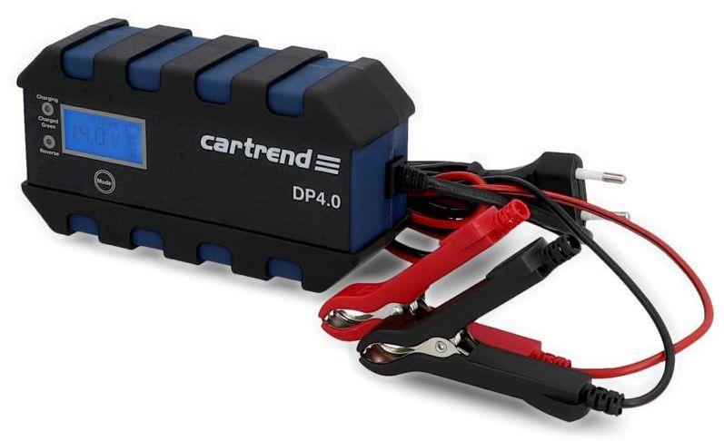 Cartrend Nabíječka baterií s mikroprocesorem DP 4.0 4A 6-12V