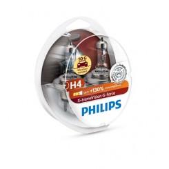 Philips X-treme Power Moto 80% 12342XPS1 H4 P43t-38 12 V 60 / 55 W