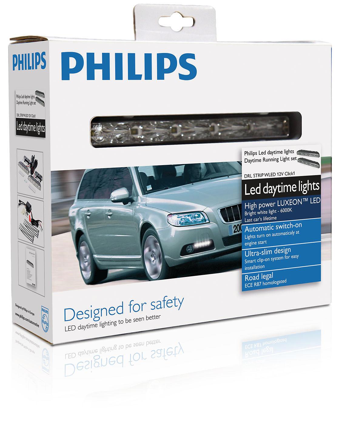 Philips Světla pro denní svícení DRL STRIP WLED 12V