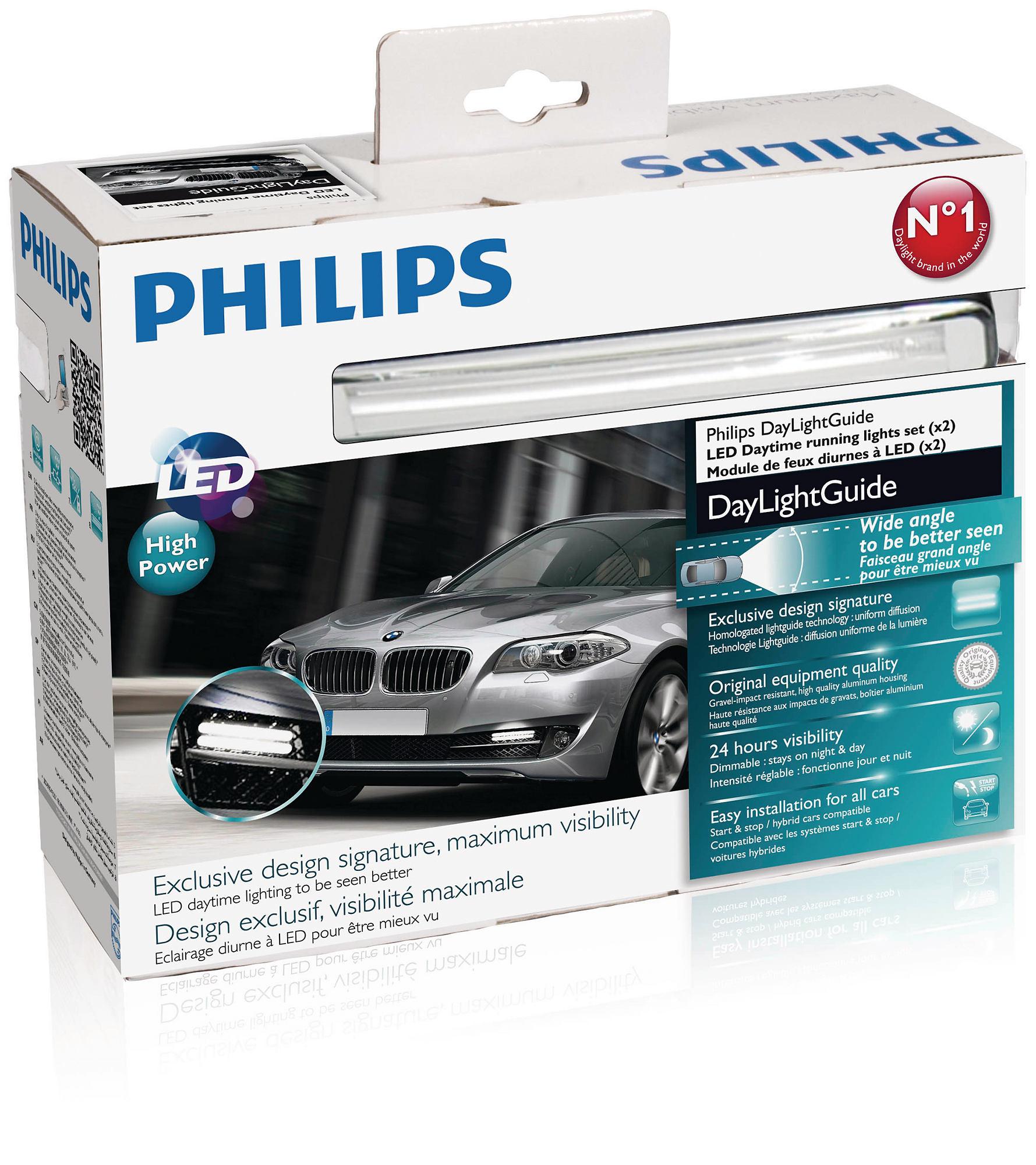 Philips Světla pro denní svícení DRL DayLightGuide 12V