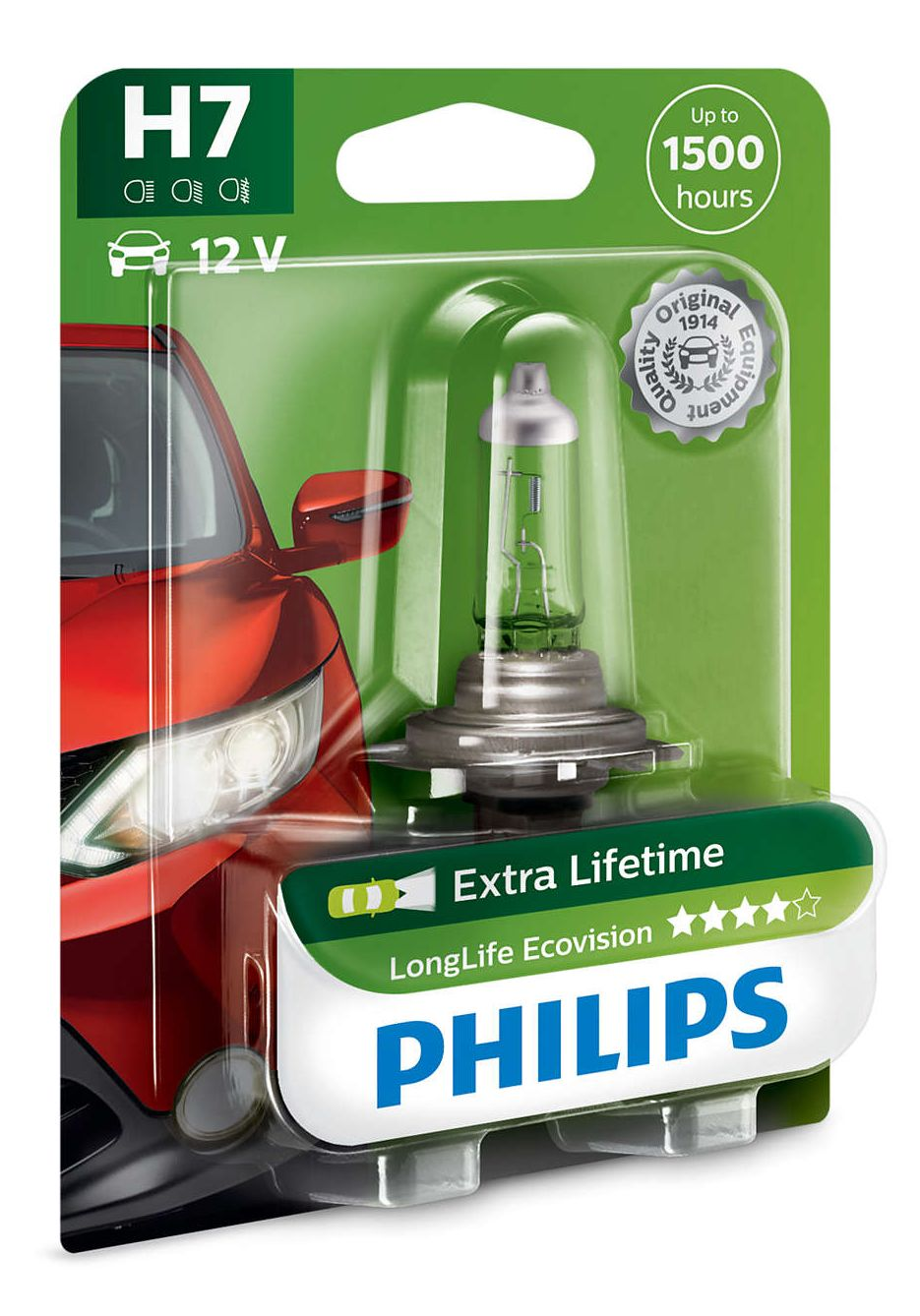 Philips LongLife EcoVision 12972LLECOB1 H7 Px26d 12V 55W 1 kus blistr