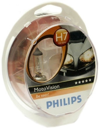 Philips Vision Moto 40% 12972MVS1 H7 PX26d 12 V 55 W