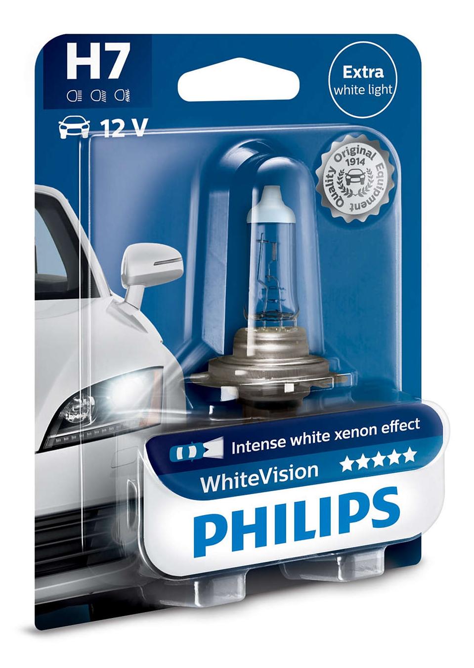 Philips WhiteVision 12972WHVB1 H7 PX26d 12V 55W blistr