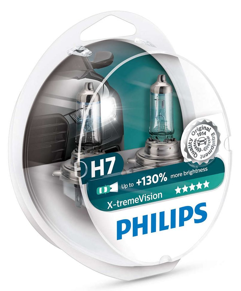 Philips Xtreme Vision+130% 12972XV+S2 H7 Px26d 12V 55W blistr 2ks