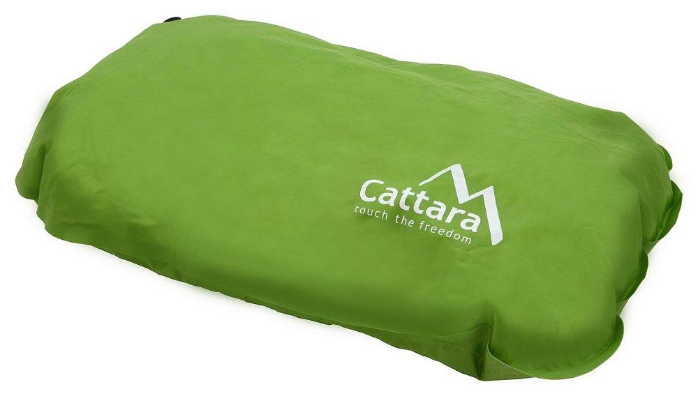 Cattara Polštář samonafukovací 50x30x13cm zelený