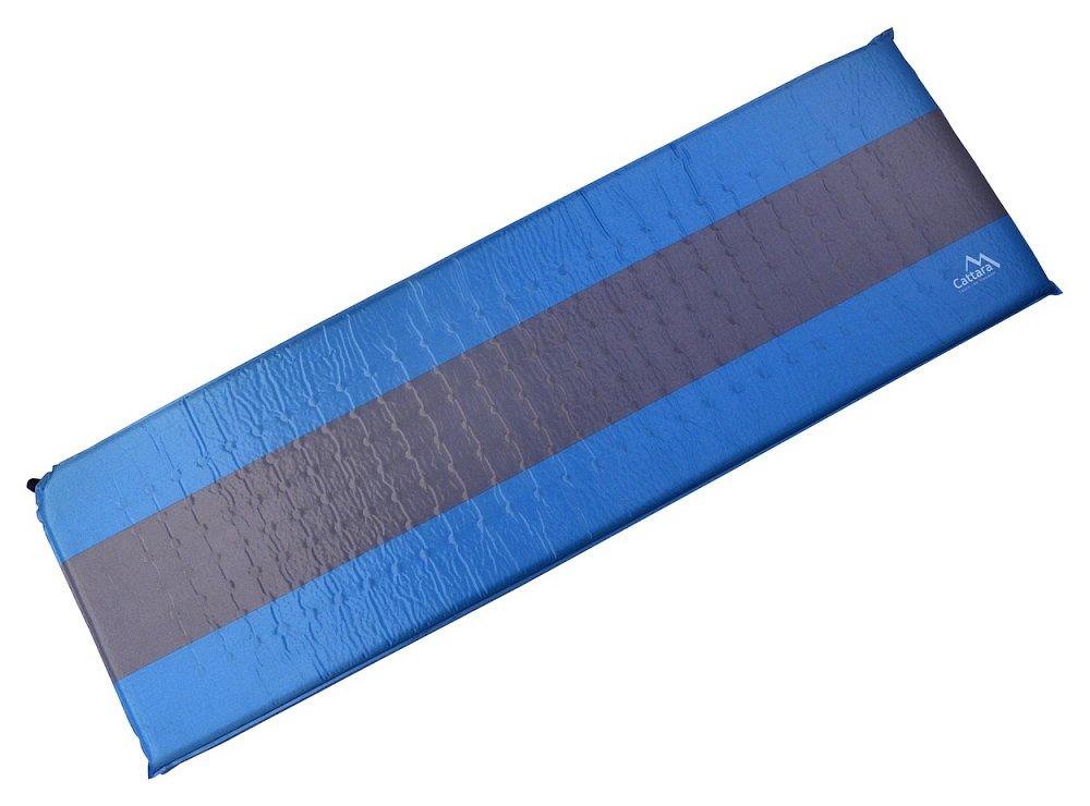 Cattara Karimatka samonafukovací 195x60x5cm modro-šedá