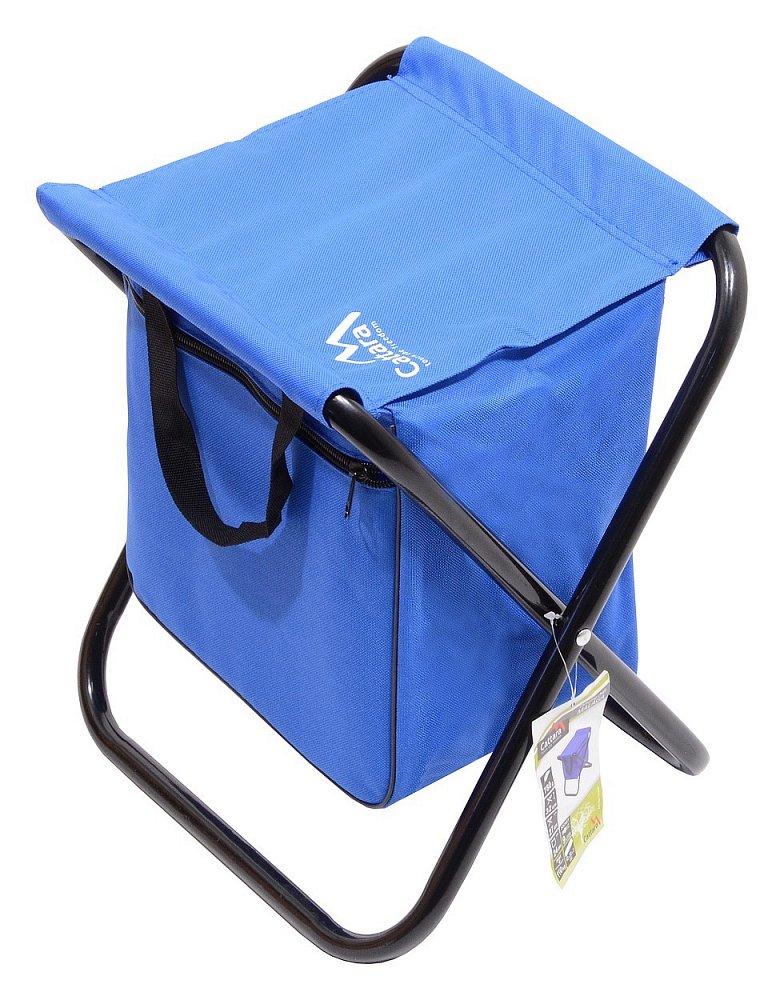 Cattara Židle kempingová skládací MALAGA modrá