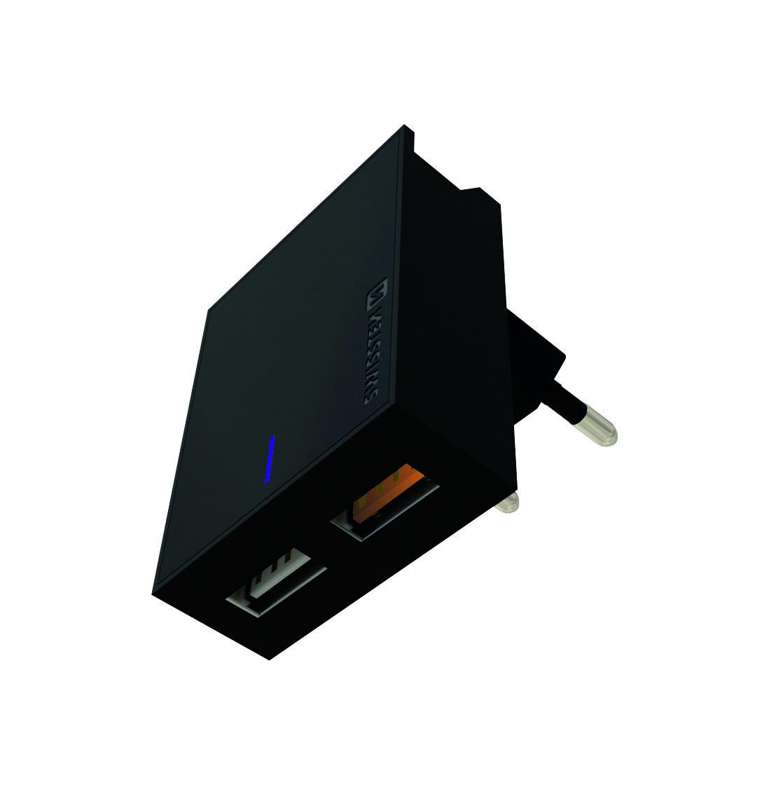 Swissten 22049500 Síťový adaptér QC3.0 23W černý