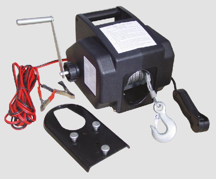 Bottari Naviják elektrický lanový 12V, 907- 2721kg