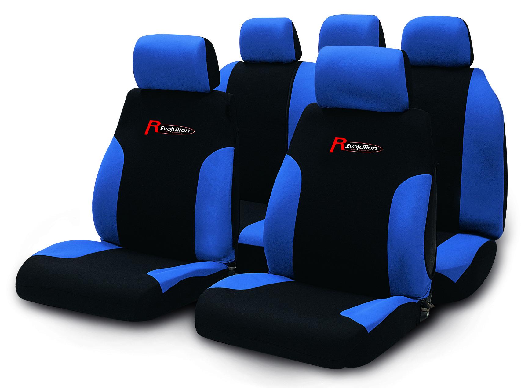 R.Evolution Potahy 9ks PUMA černo-modré