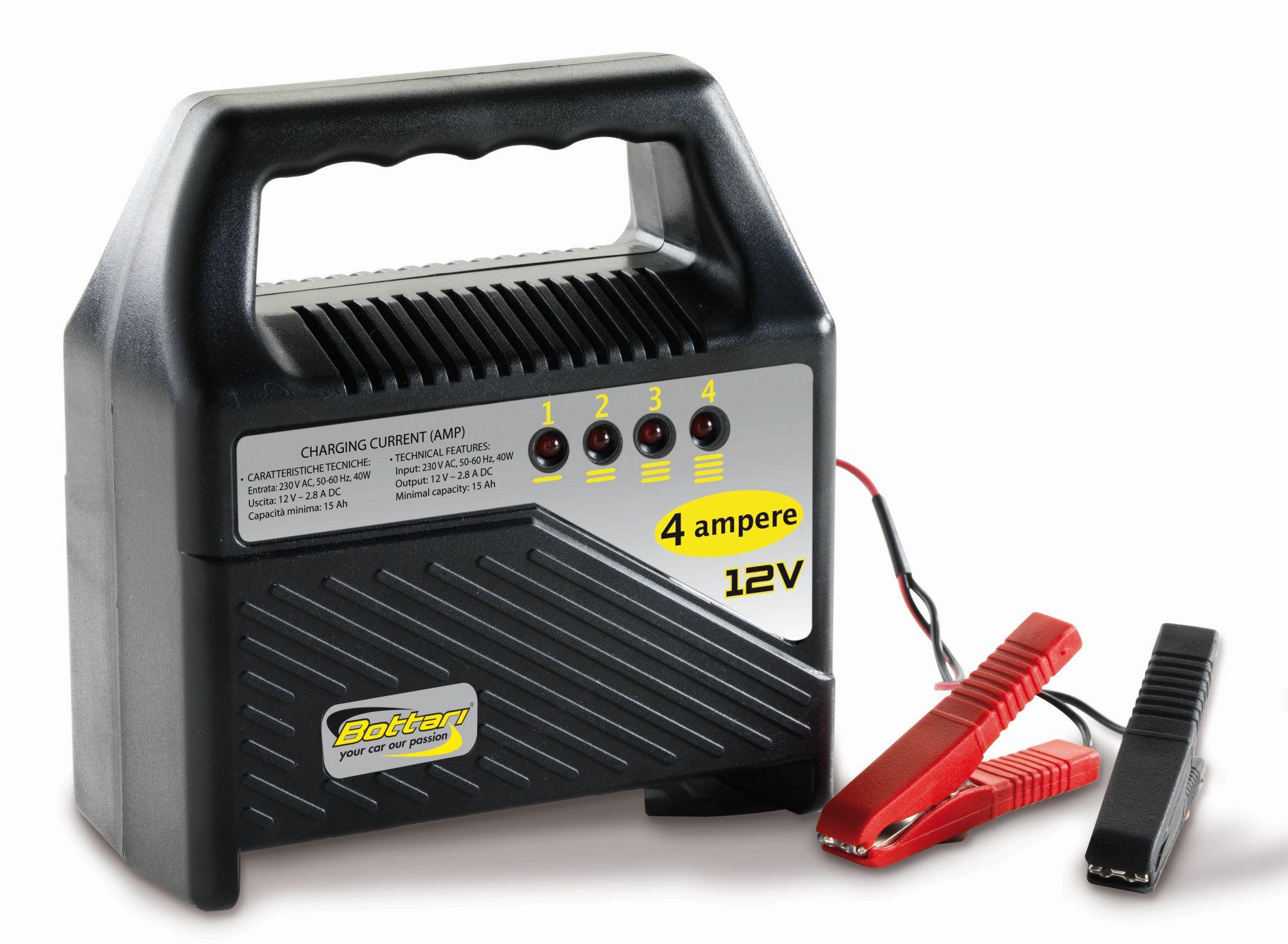 Bottari Nabíječka autobaterií ENERGY 4A 12V 230V