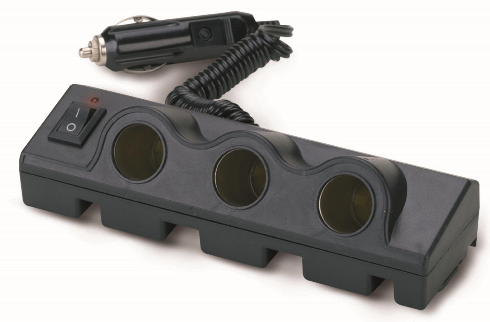 Bottari Roztrojka TRIPLE 12/24V s kabelem