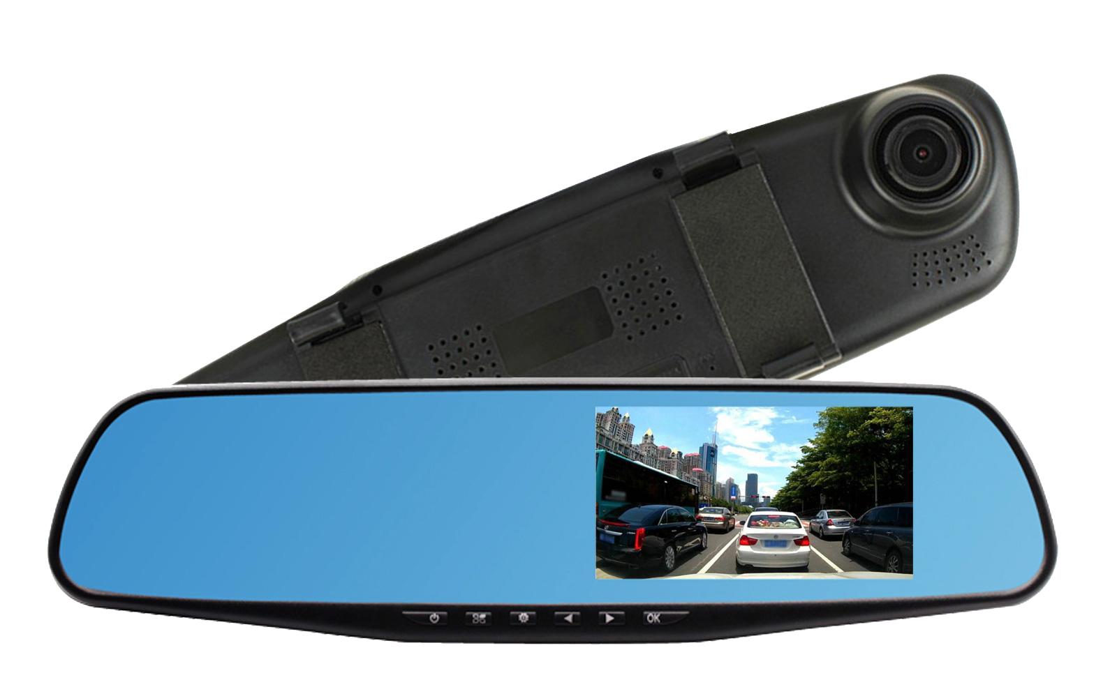 """Autokamera LCD display 2.8"""" 0.3M pixel MIRROR PIX"""