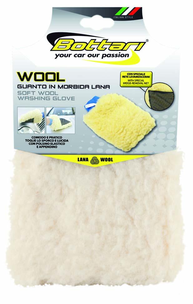 Bottari Rukavice mycí WOOL vlněná