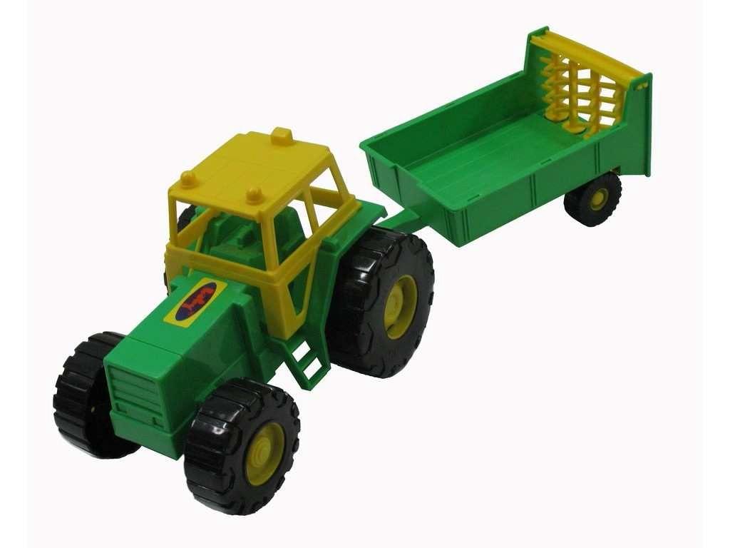 Hračka Traktor Farmář rozmetač 43cm