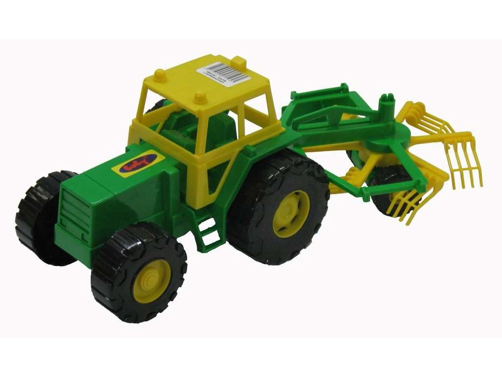 Hračka Traktor Farmář obraceč 34,5cm