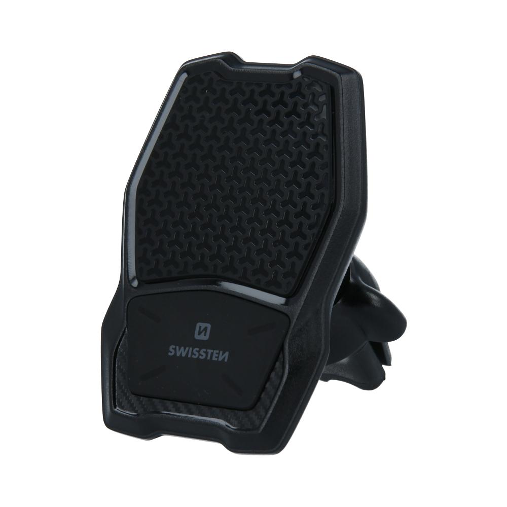 Swissten 65010603 Magnetický držák do ventilace auta s bezdrátovým nabíjením WM1-AV3