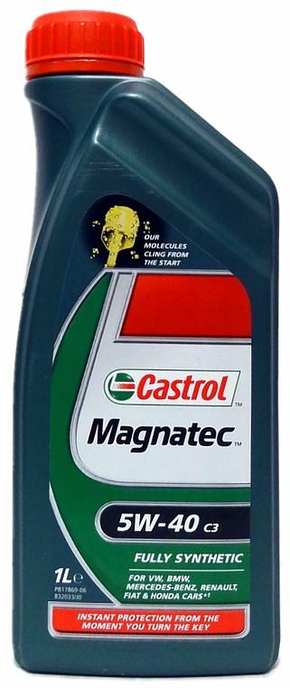 Olej motorový Castrol magnatec 5W-40 1L C3
