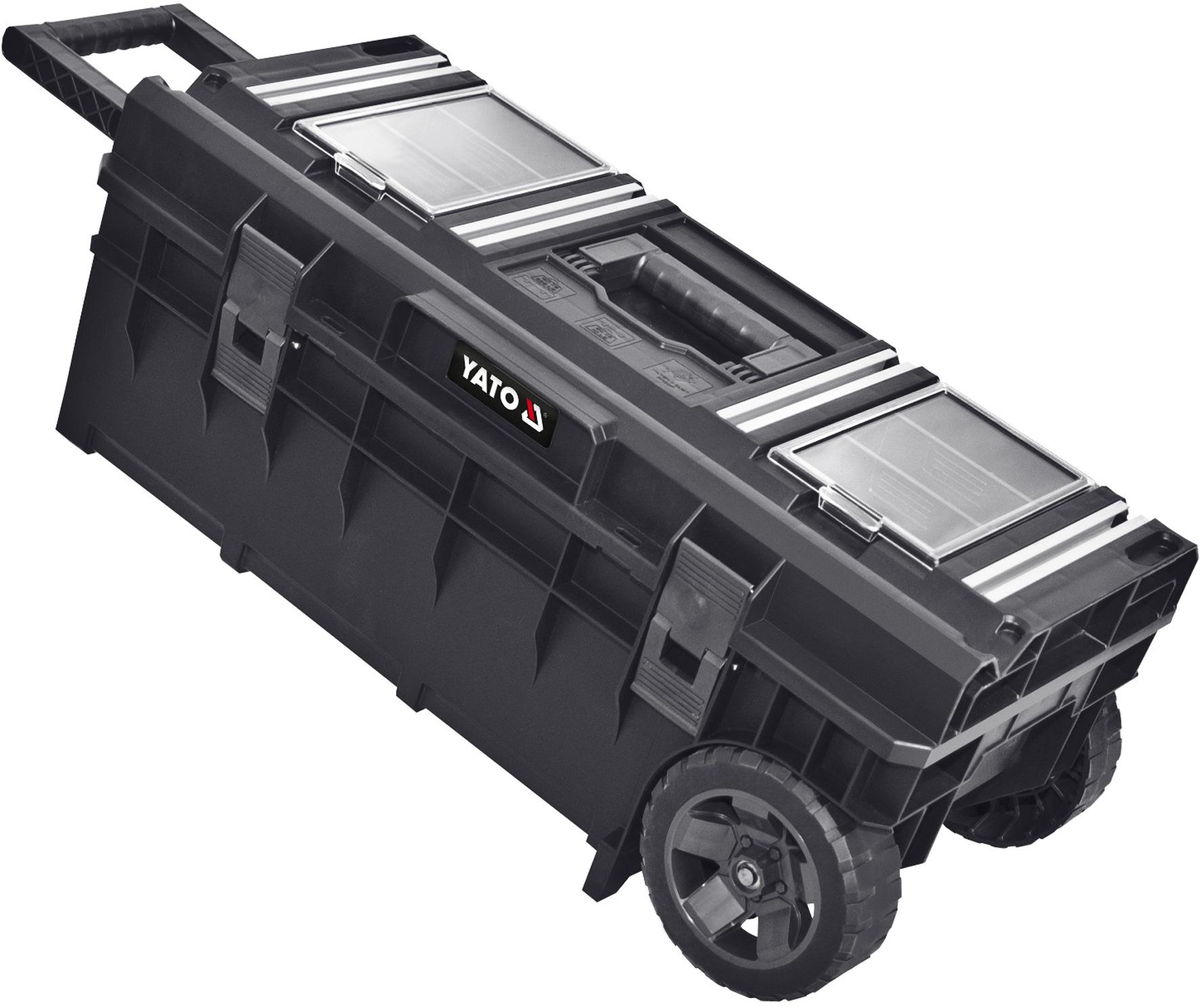 Vozík na nářadí pojízdný plastový, 793x385x322mm