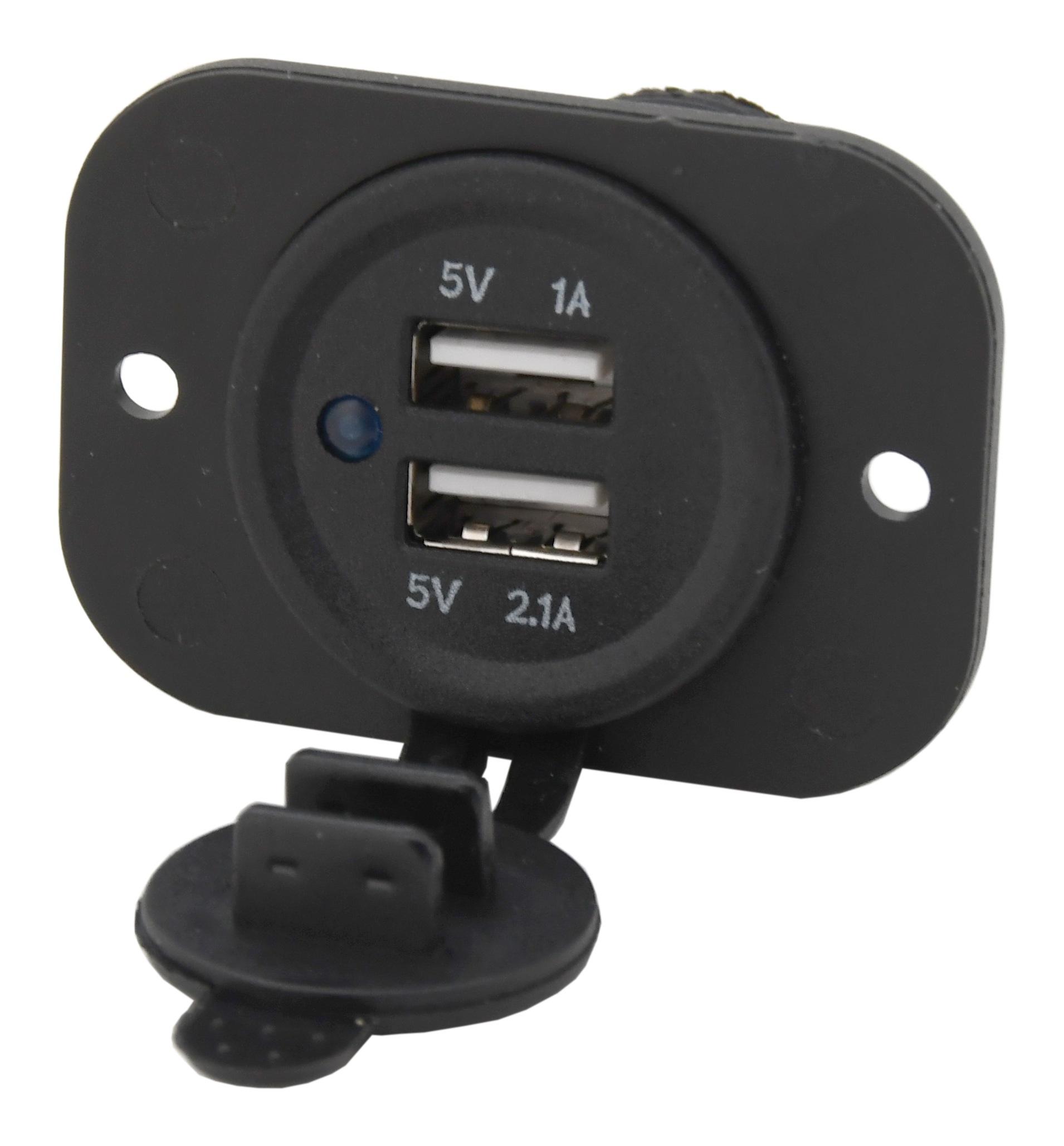 Zásuvka 2x USB 2,1A / CAR