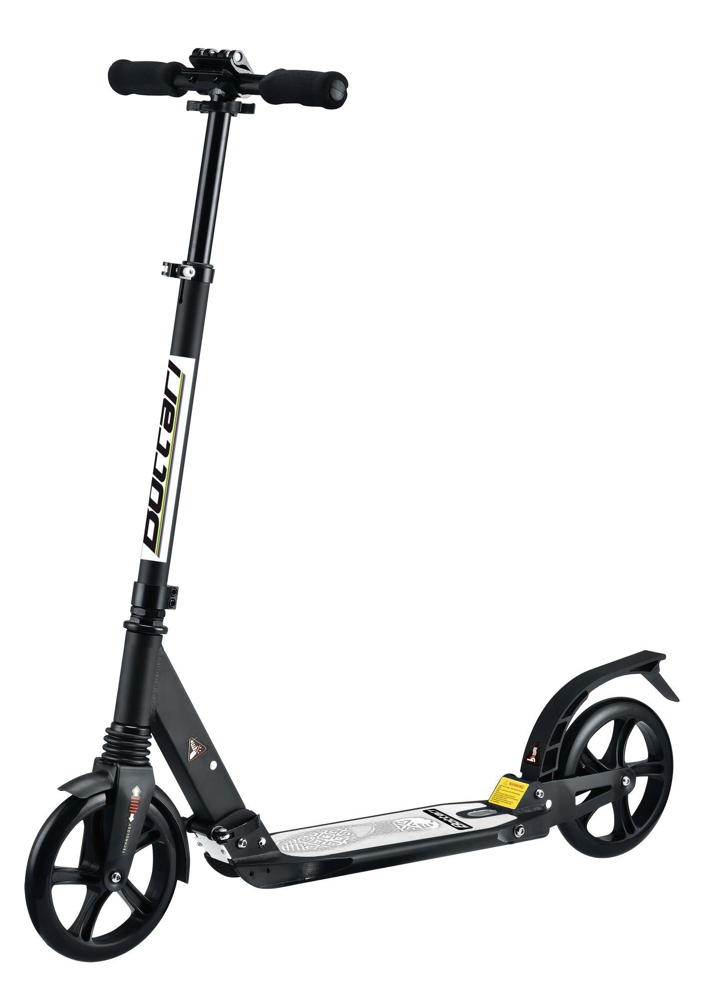 Goodbike Koloběžka pro dospělé černá aluminiová