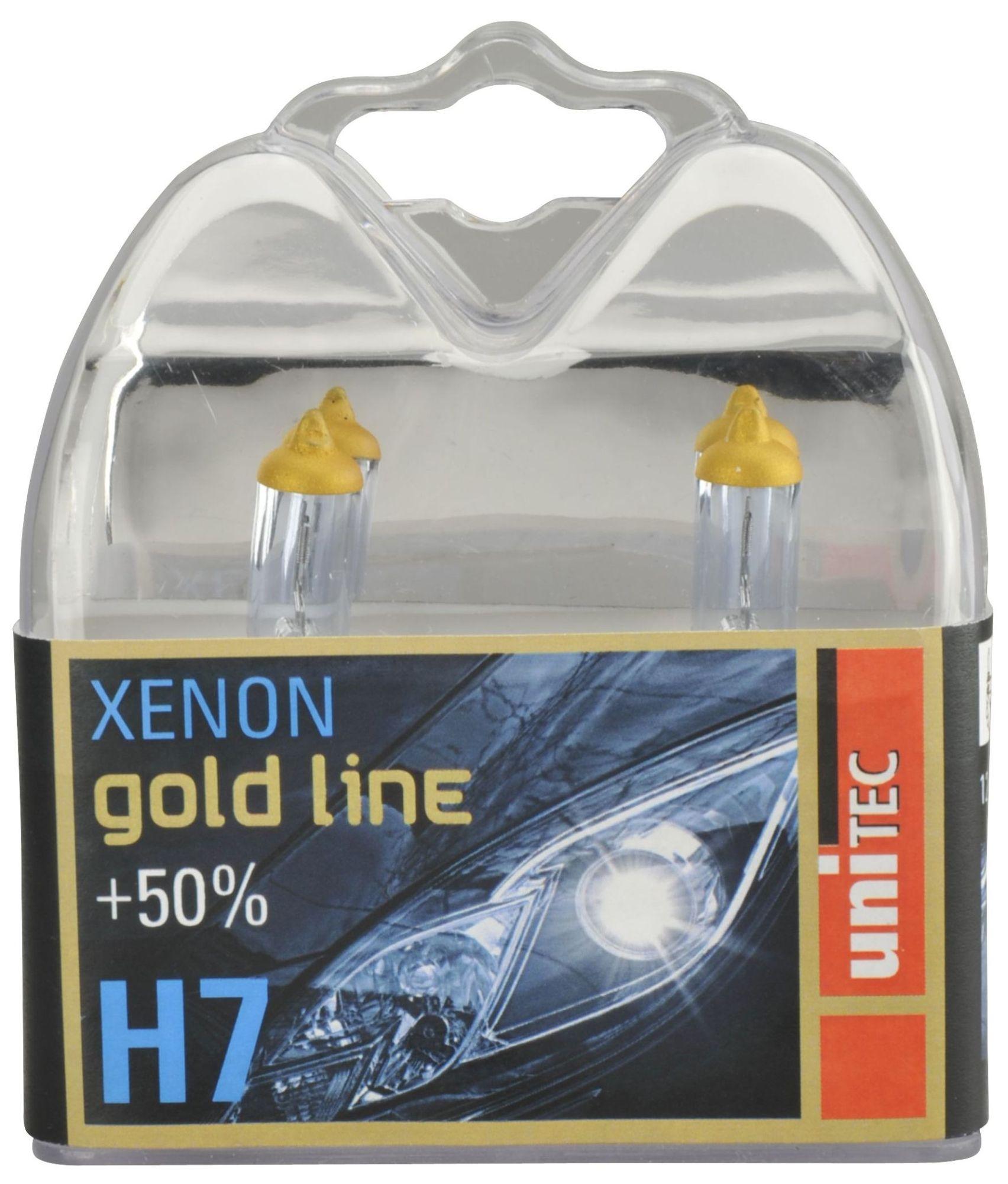 Unitec Xenon Gold 77767 H7 Px26d 12V 55W
