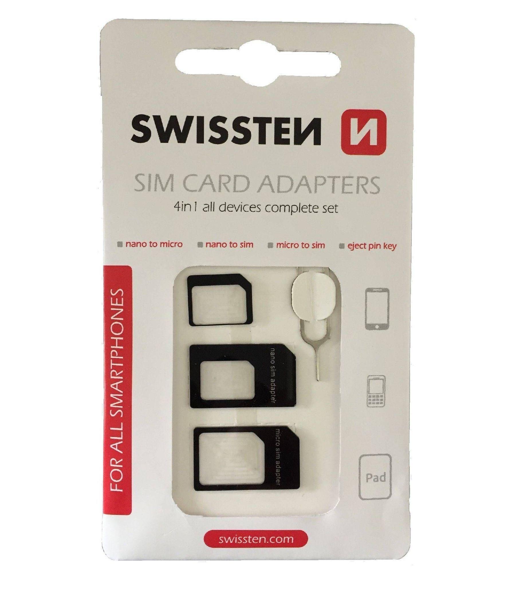Swissten Sim adaptér 4v1