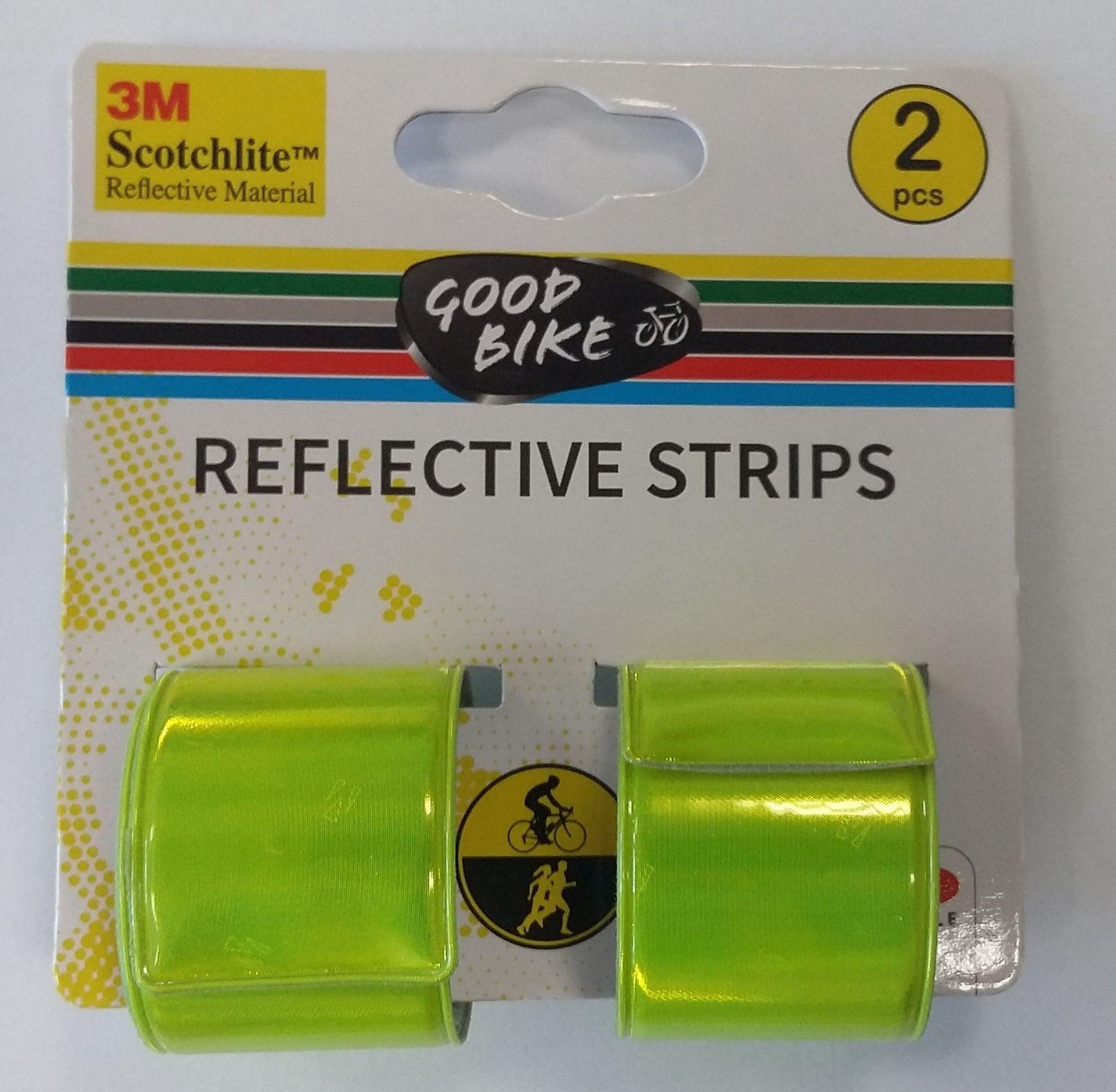 Goodbike Reflexní pásky 3 x 39 cm 2 kusy