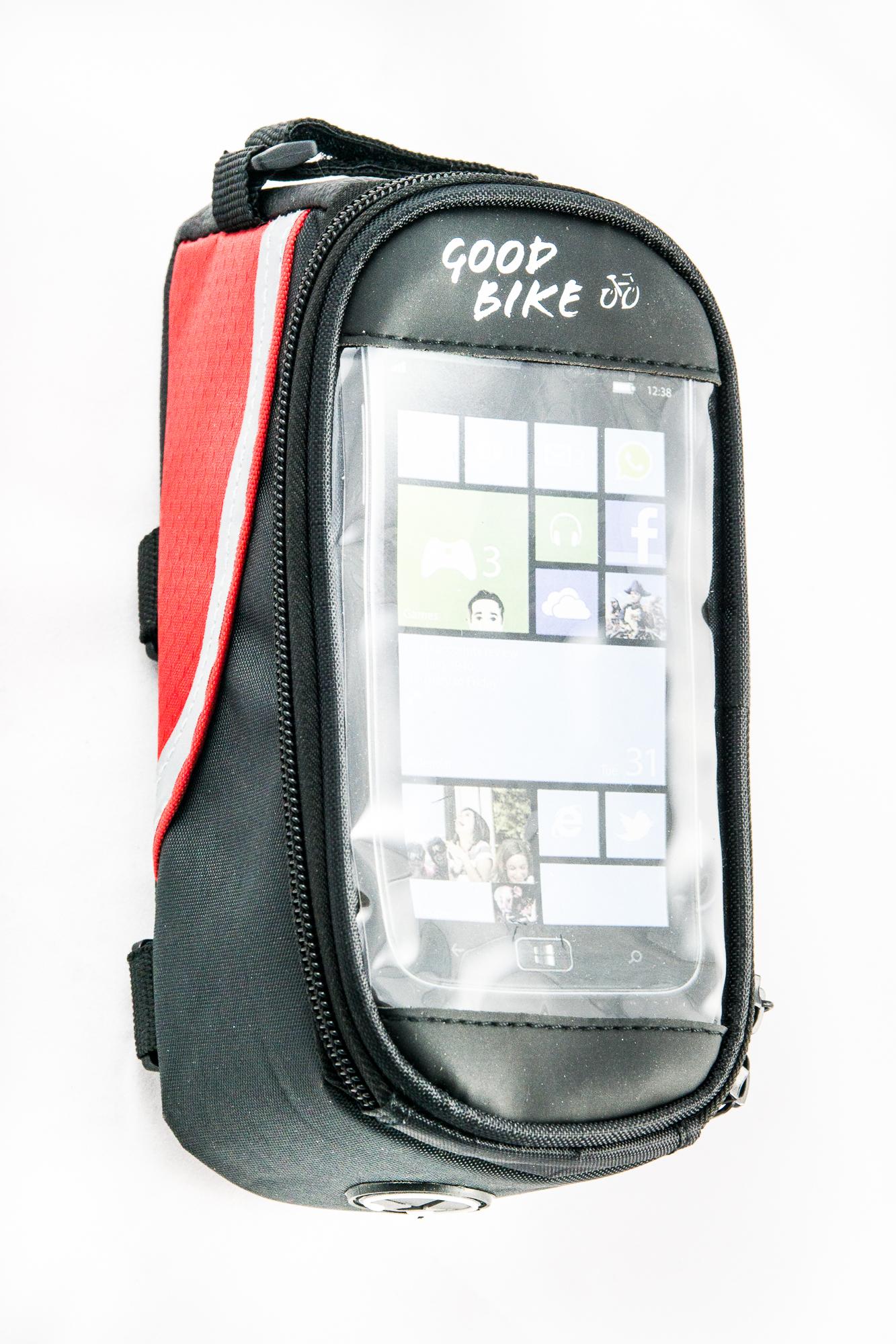 Goodbike Brašna do rámu na mobil IN TOUCH pro smartphony 5,3''