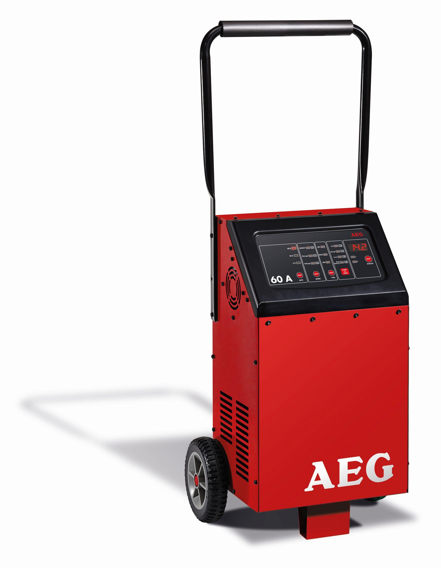 AEG Nabíječka autobaterií s mikroprocesorem AEG 60A 12-24V