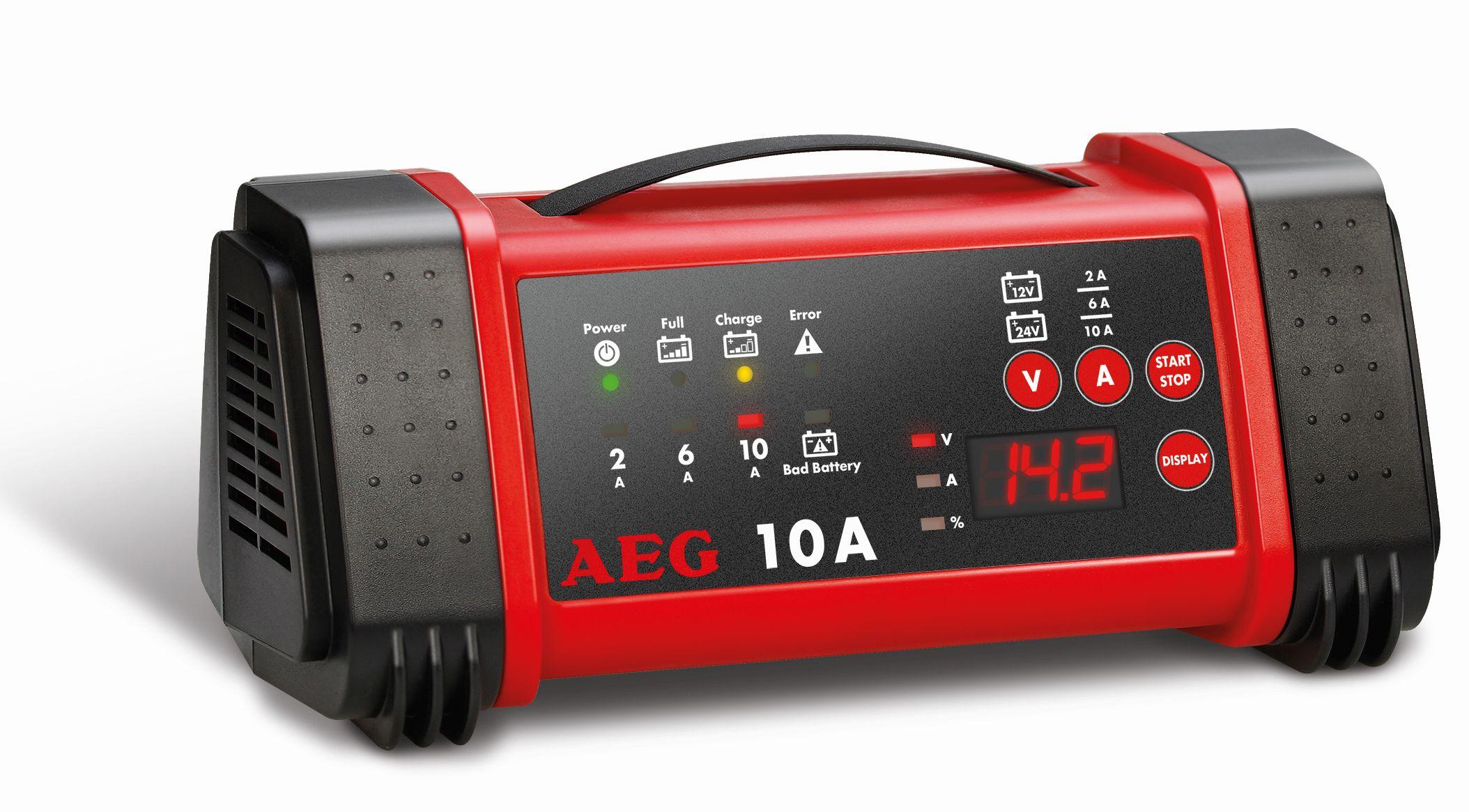 AEG LL10.0 Nabíječka autobaterií s mikroprocesorem 2-6-10A 12V
