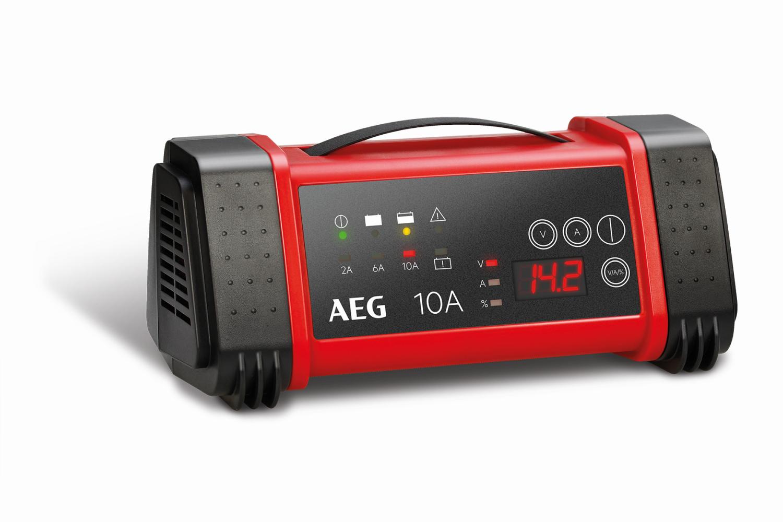AEG LT10 Nabíječka autobaterií s mikroprocesorem 2-6-10A 12V