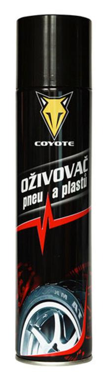 Coyote Oživovač pneu a plastů 400ml