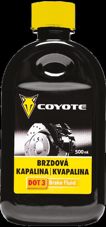 Coyote Brzdová kapalina DOT3 500 ml