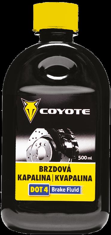 Coyote brzdová kapalina DOT4 500 ml