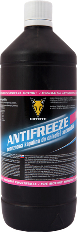 Coyote Antifreeze nemrznoucí směs do chladičů D/F 1l