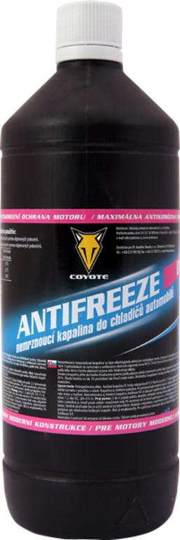 Coyote Antifreeze nemrznoucí směs do chladičů Univerzal 1l