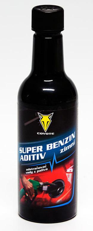 Super benzin aditiv - zimní odstraňovač vody z paliva 450ml