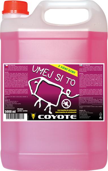 Coyote letní kapalina do ostřikovačů 5l