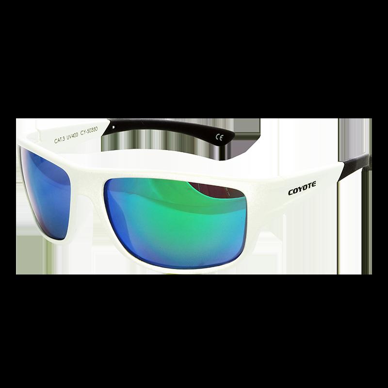 Coyote Vision Brýle FASHION polarizační bílé CY-50350