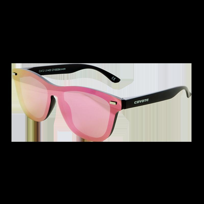 Coyote Vision Brýle FASHION polarizační REVO celosklo fialové CY-50354