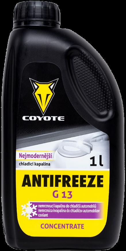 Coyote Antifreeze G13 nemrznoucí směs do chladičů koncentrát 1 litr