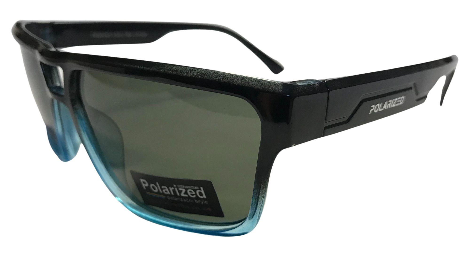 Coyote Vision Brýle FASHION polarizační černo - modré lesklé SGLPO2.173