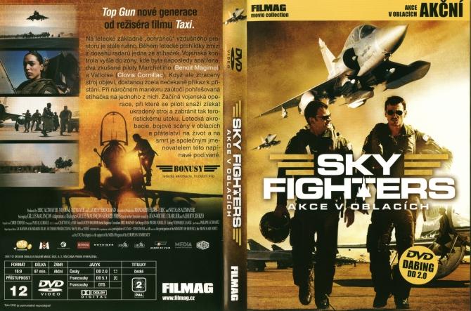 DVD film Sky Fighters, akce v oblacích akční