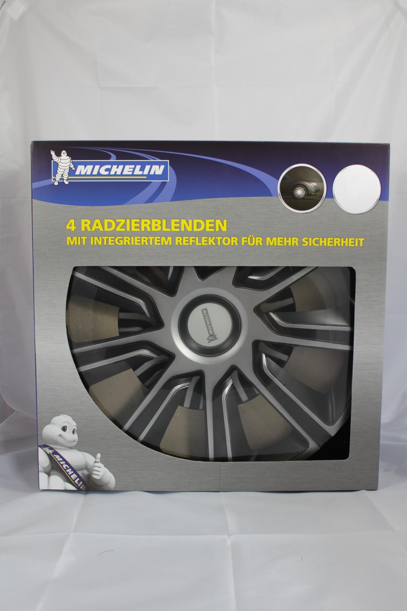 """Michelin Poklice LOUISE 14"""" stříbrno/černé"""