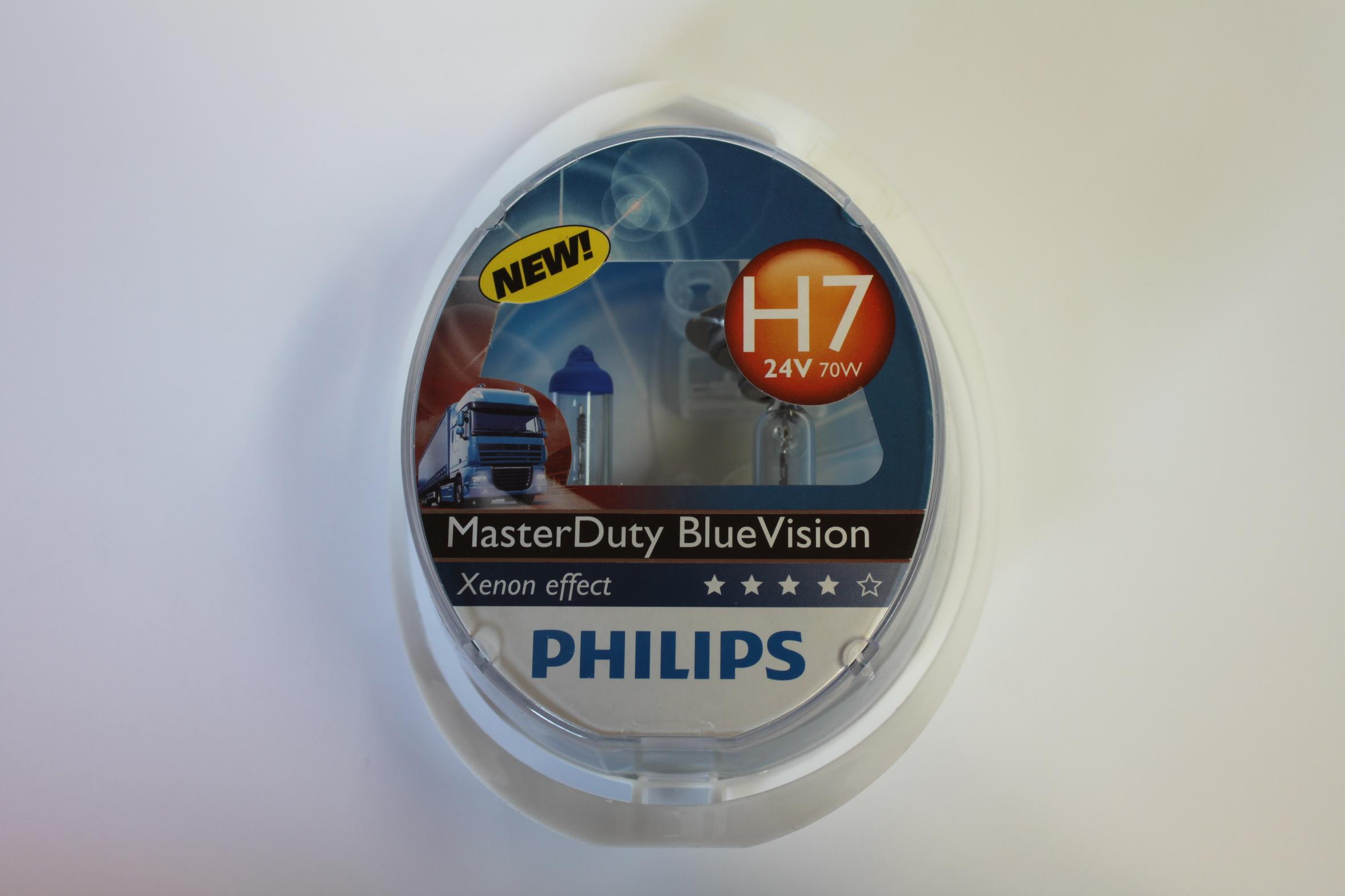 Philips Žárovky 24V H7 70W MasterDuty BlueVision 2ks