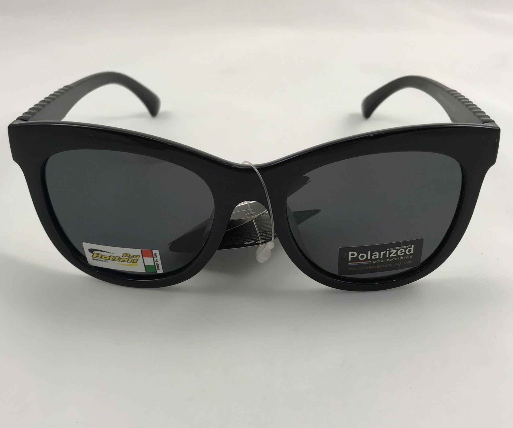 Polarized Brýle polarizační plastové černé lesklé K7308-Pč