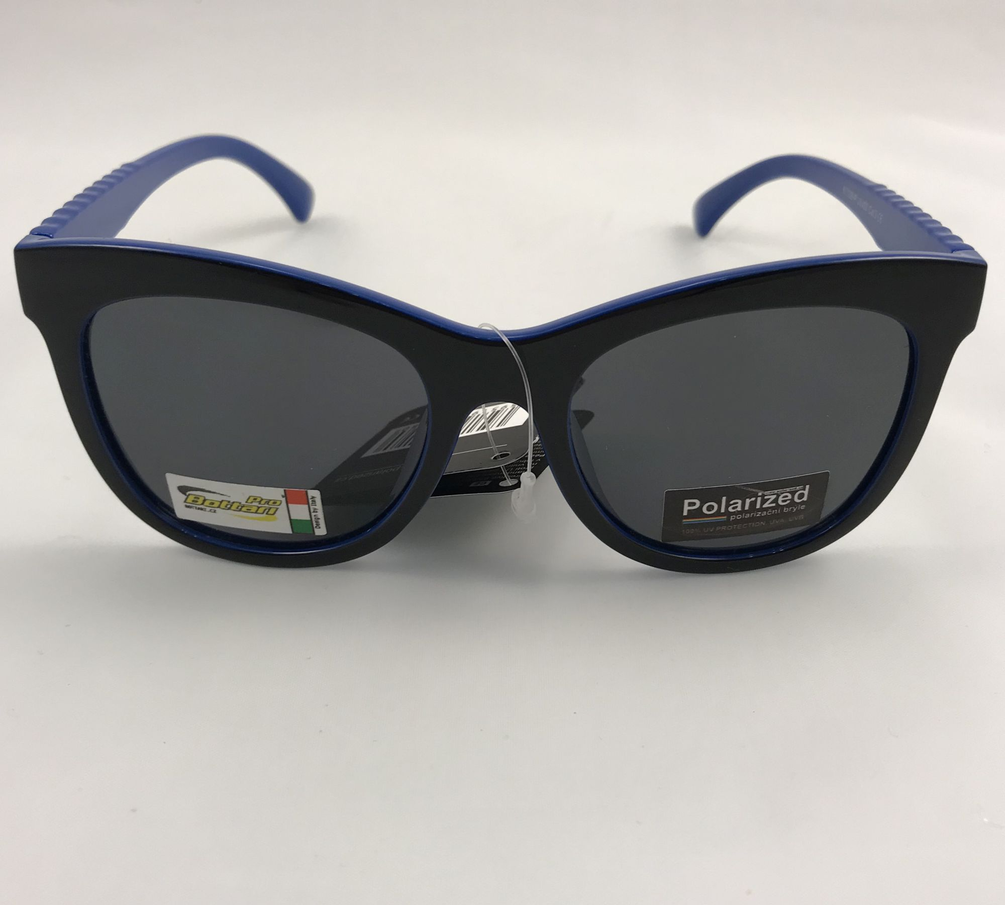 Polarized Brýle polarizační plastové modro-černé lesklé K7308-m